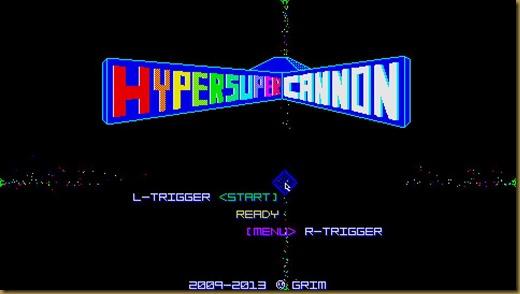 HYPERSUPER CANNONタイトル
