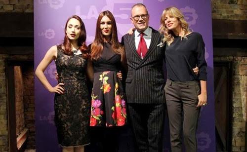 Fashion Style Alessia Marcuzzi Silvia Toffanin Chiara Francini E Cesare Cunaccia Nel Primo
