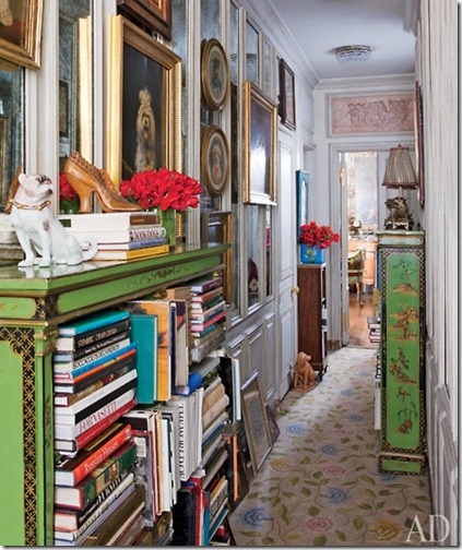 iris apfel manhattan apartment via archiectrual digest via fallon elizabeth tumblr