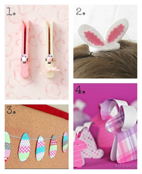 DIY Easter Crafts for Kids ucreatewithkids.com