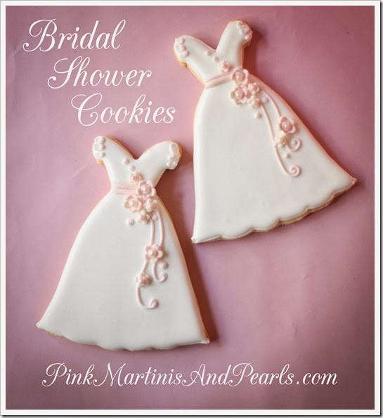 Bridal Shower Wedding Dress Cookie-5932-2H20