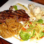 steak at Shoeless Joe's Niagara Falls in Niagara Falls, New York, United States