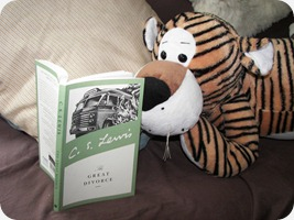 Roger ponders C.S. Lewis... I think they would be friends.