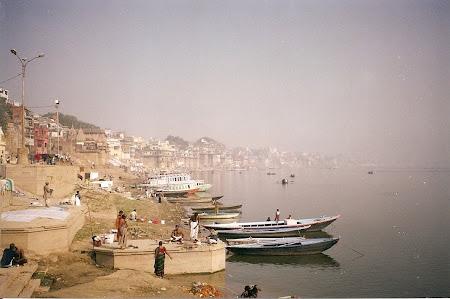 Varanasi: the Ganges