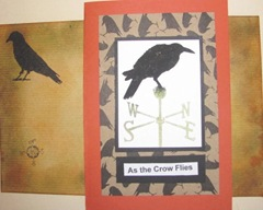 As the Crow flies card.envelope1