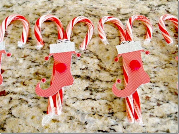 Elf Stocking Candy Canes