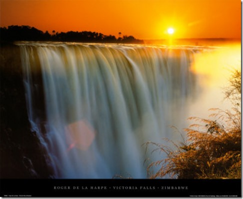 Vic-Falls-Sunset