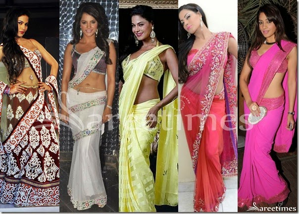 Veena_Malik_Saree_Collection