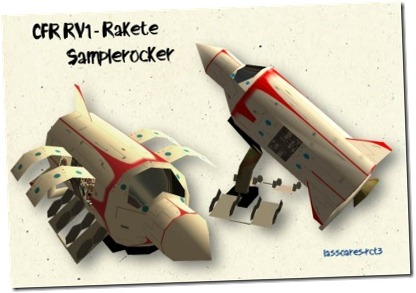 CFR_RV1 - Rakete Animation (Samplerocker) lassoares-rct3