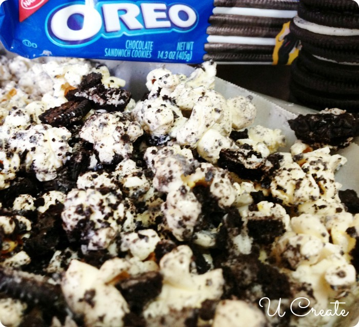 How to Make OREO Popcorn - delicious!