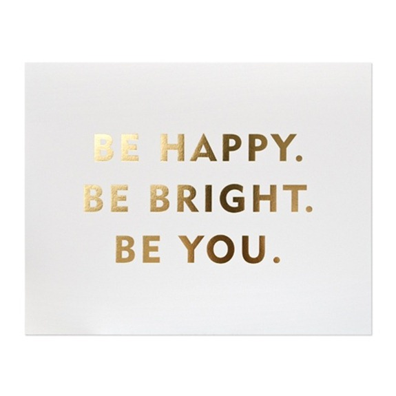 be-happy-be-bright-be-you-gold-metallic-saying-style-carrot