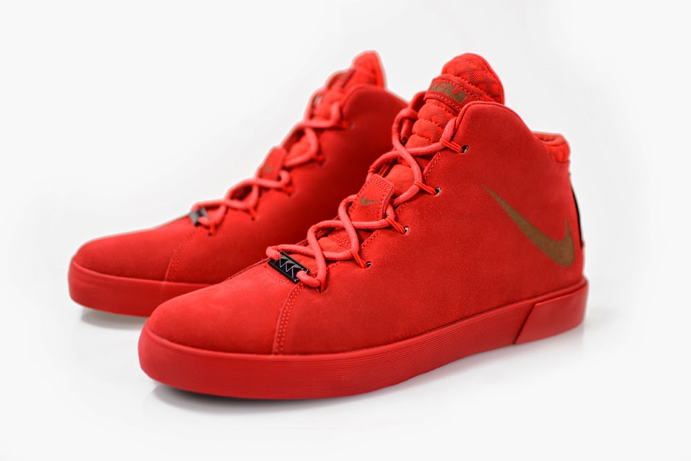 Nike Lebron 12 Lifestyle Blue Suede  91713bcc52