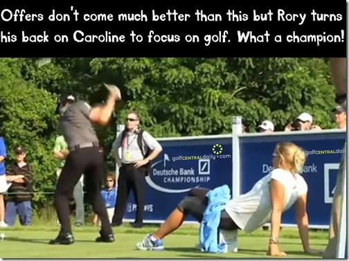 Rory McIlroy Funny Pic