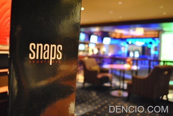 Snaps Sports Bar Sofitel Manila 22
