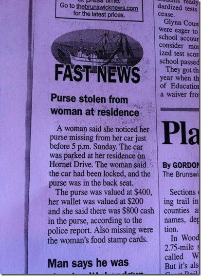 New Brunswick News, GA