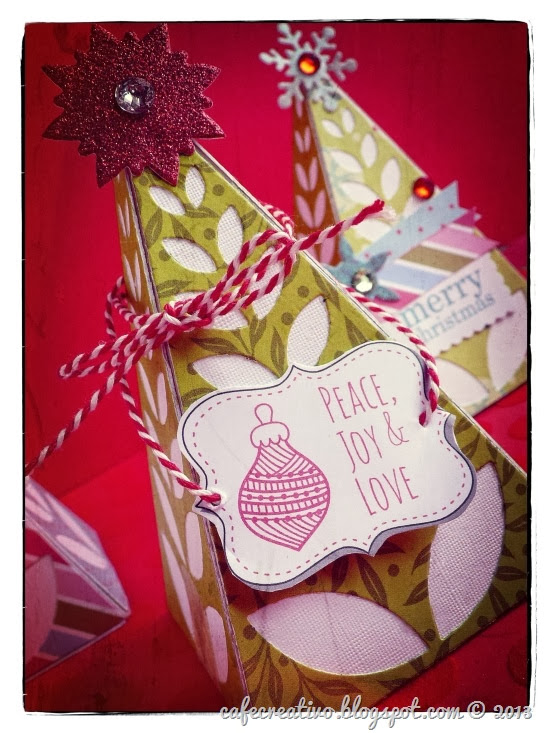 cafe creativo - sizzix big shot - christmas - natale