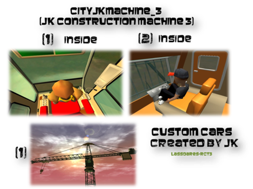 cityjkmachine_3  (JK Construction Machine 3) Custom Cars II (JK) lassoares-rct3