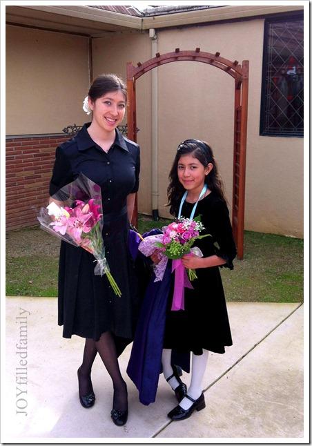 Sisters -  Chorister Medal 2.2.13