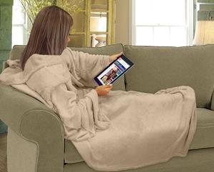 cobertor com manga zelo