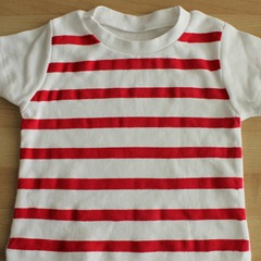 Stripe shirt finished