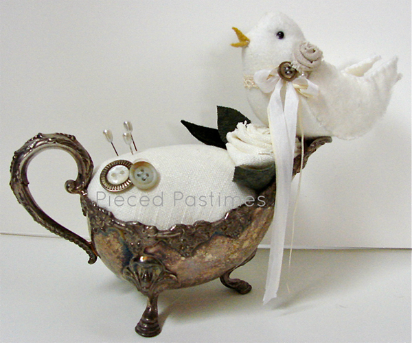 Bird Pincushion Front View
