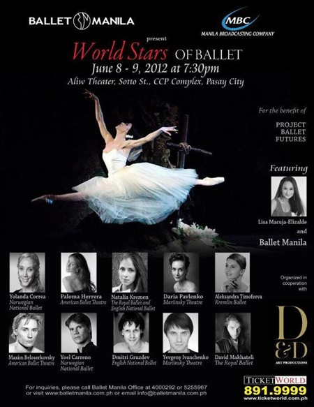 World Stars of Ballet