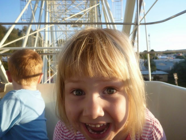 mae - on the ferris wheel
