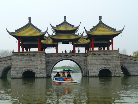 Obiective turistice Yangzhou:  West Lake