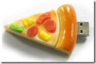 Chiavetta USB pizza