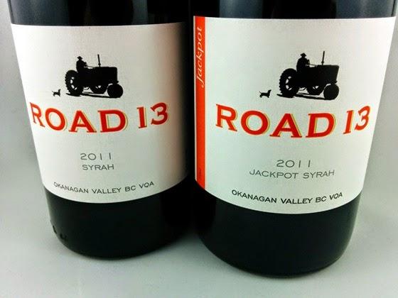 Road 13 Syrah 2011 & Jackpot Syrah 2011