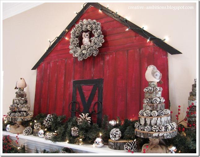 Christmas Mantel1