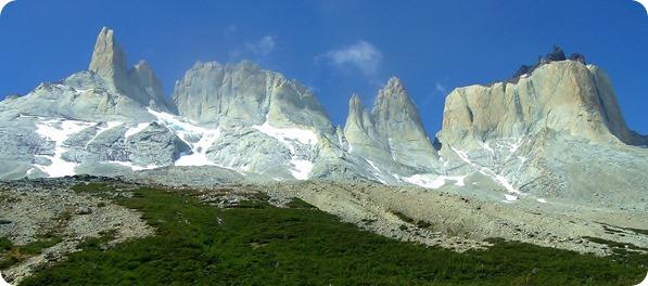 Cerro Espada, Cerro Hoja, Cerro Máscara e Cuerno Norte