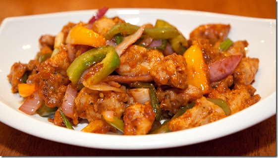 how to cook chilli chicken in bengali