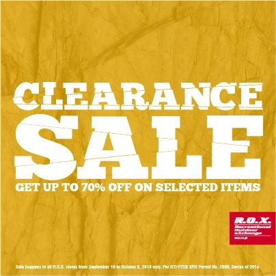 R.O.X Clearance Sale