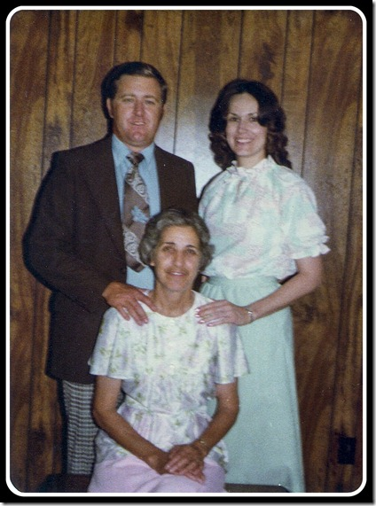 1977 - Mama Trudy, Jon & LaVon - Coldwater, Miss.