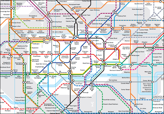 London Zones 1 6 Map Browse Info On Map