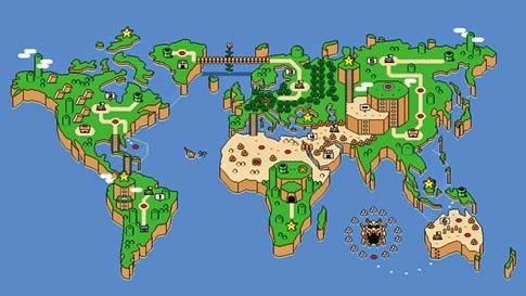 Cómo se vería Game of Thrones en un juego de Mario Bros