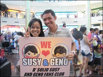 we support Susy & Geno!