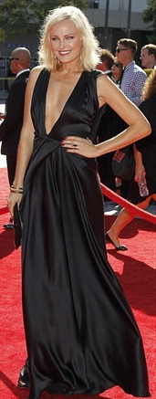 Jennifer Morrison Wore Black Dress