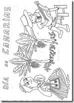 colorear dia de canarias - -029