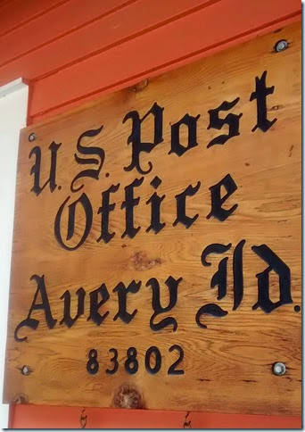 Post Office in Avery ID
