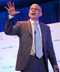 Seth Godin at the Tech Leadership Conference 2013 (photo from Communitech on Facebook)