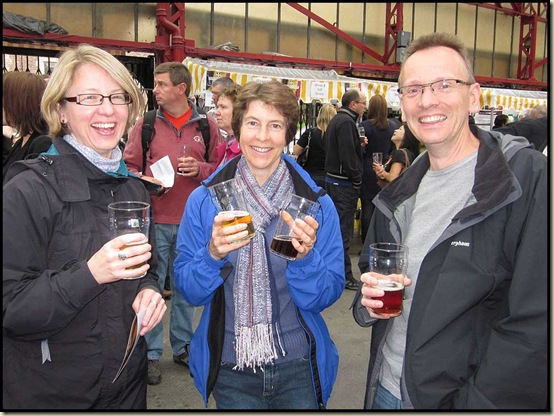 Boozers at Altrincham Beer Festival