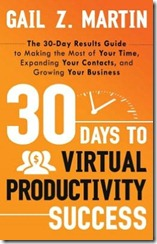 30 Days to Virtual Productivity Success by Gail Z. Martin Book Cover
