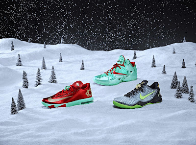 nike lebron 11 xx christmas pack 5 01 Nike Unveils KD 6, Kobe 8, and LeBron 11 Christmas Pack