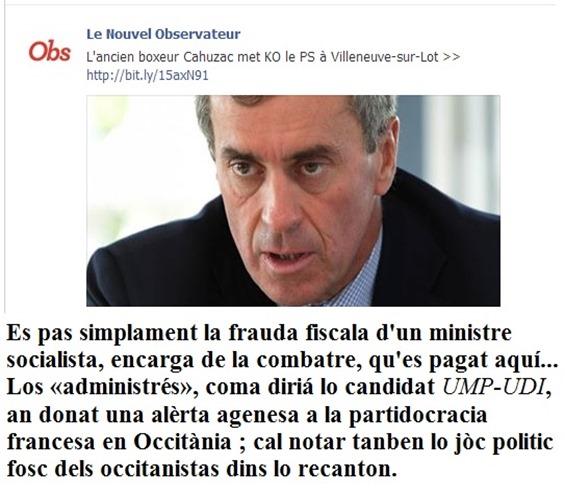 Nouvel Obs Eleccions Vilanèva d'Òlt junh 2013