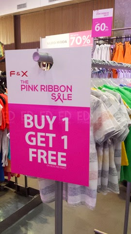 Bench Pink Ribbon Sale 013