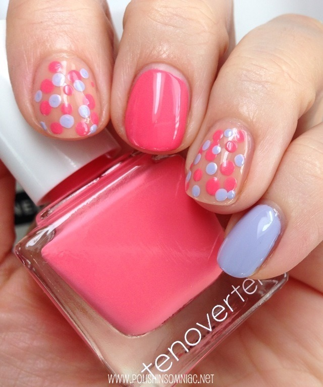 tenoverten nail art using Houston, Prince and Spring