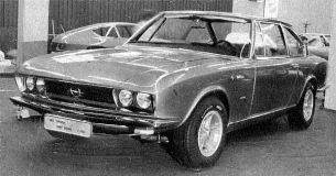 Opel Diplomat B Coupé Frua 1969