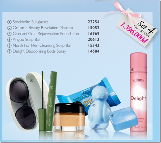 Oriflame - Chng trnh qu set 8-2011 - B 4